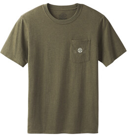 Prana M's Dirtbag Pocket Tee Slim Cargo Green Heather